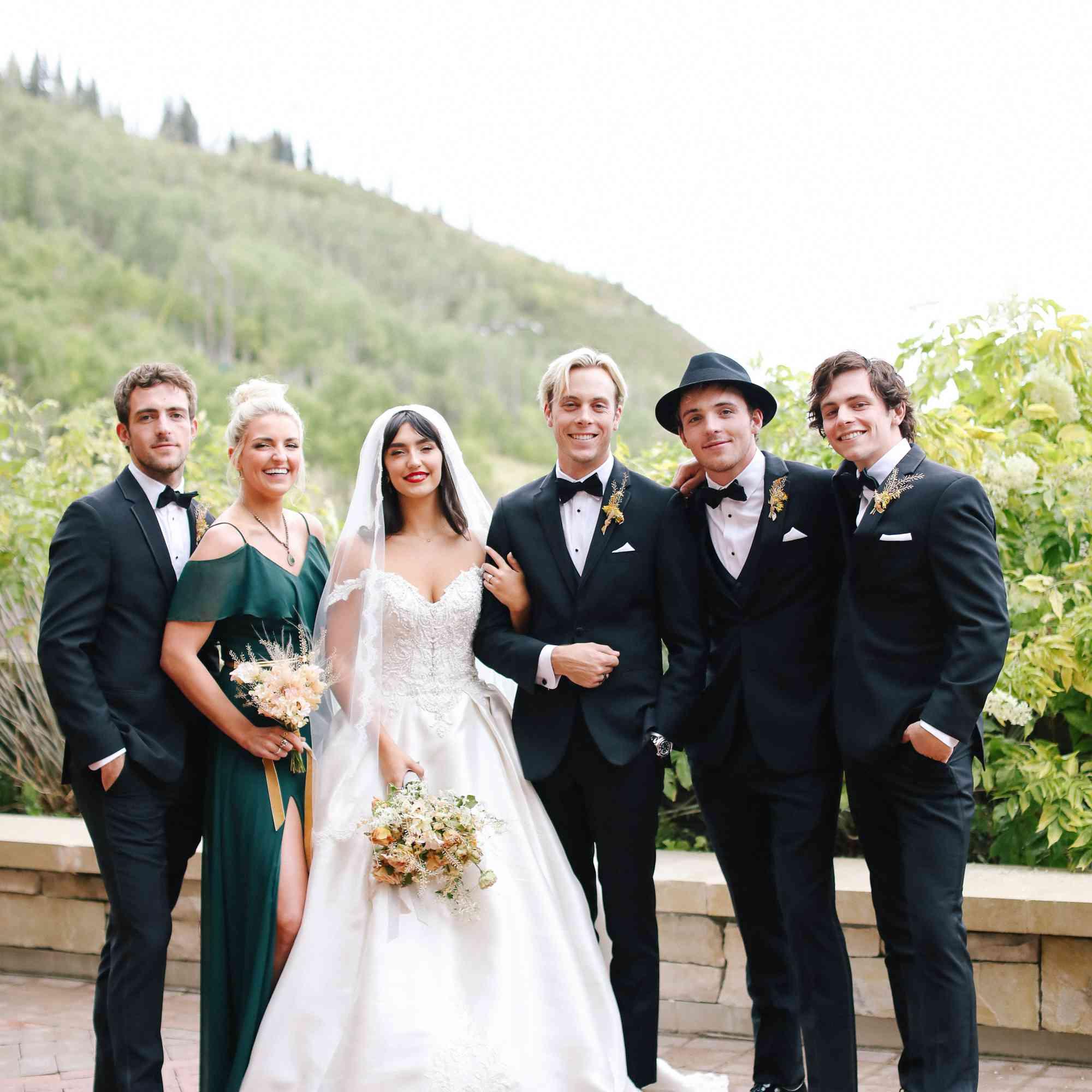 savannah and riker wedding, lynch family