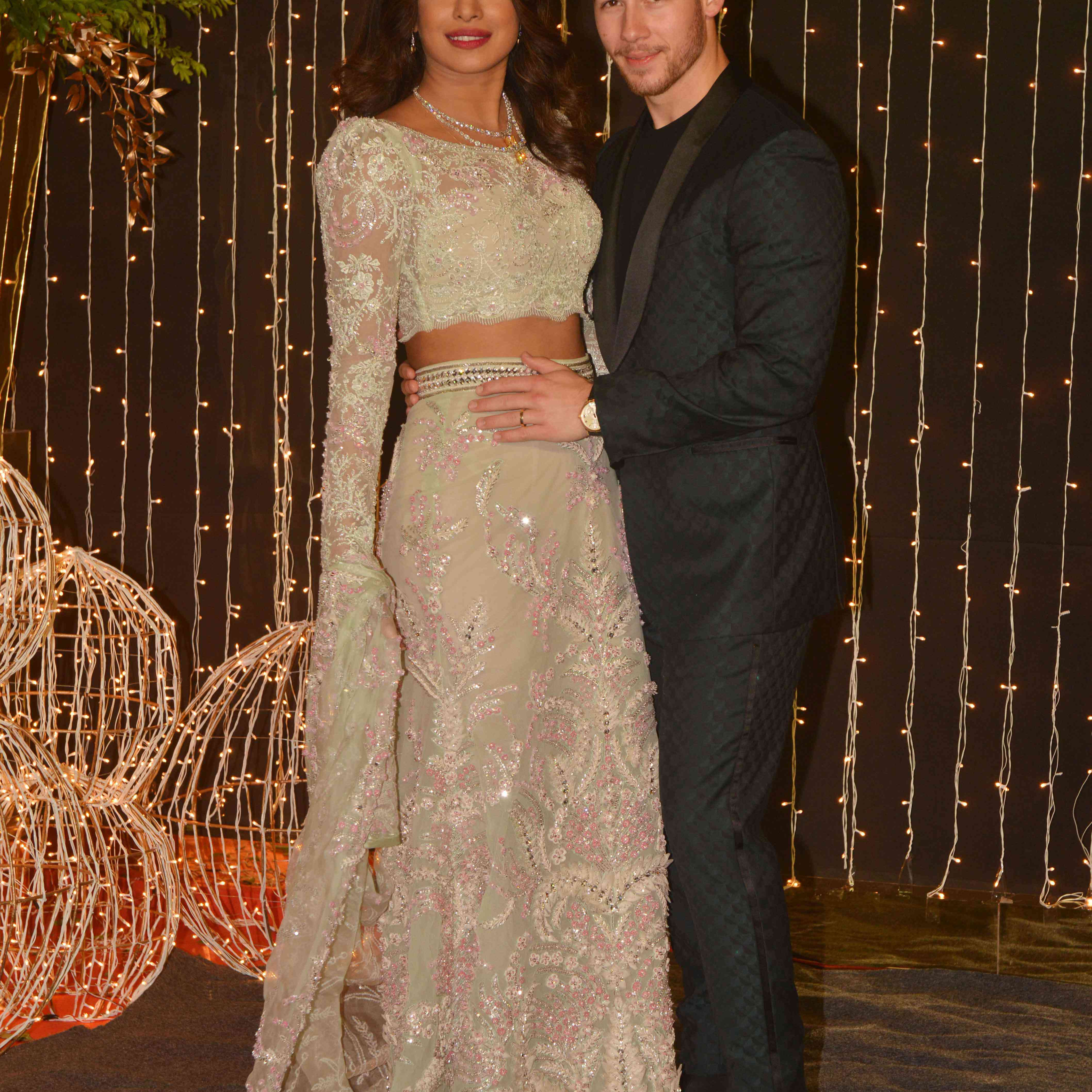 See Priyanka Chopra S Never Before Seen Reception Dress