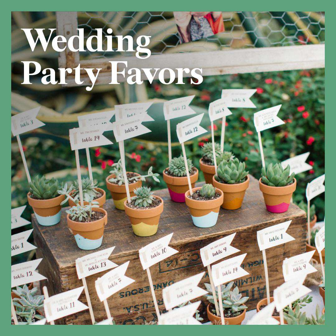 Wedding Guest Favors.24 Wedding Party Favors For Every Budget And Style