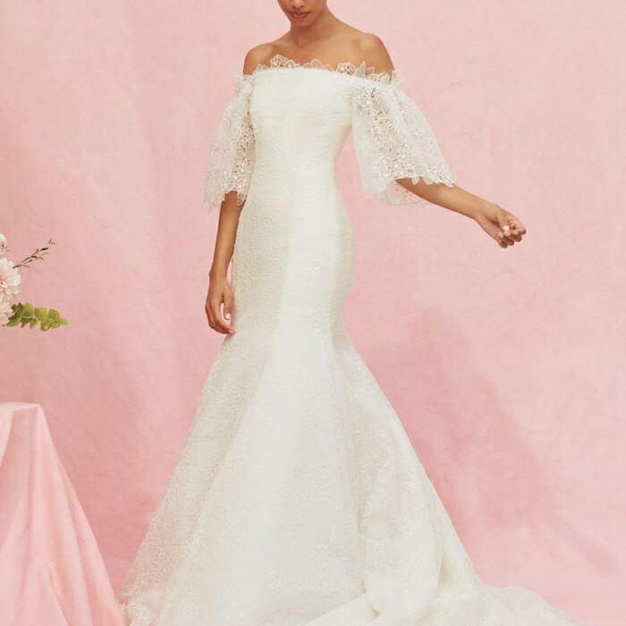 Carolina Herrera Marguerite Bridal Gown, price upon request