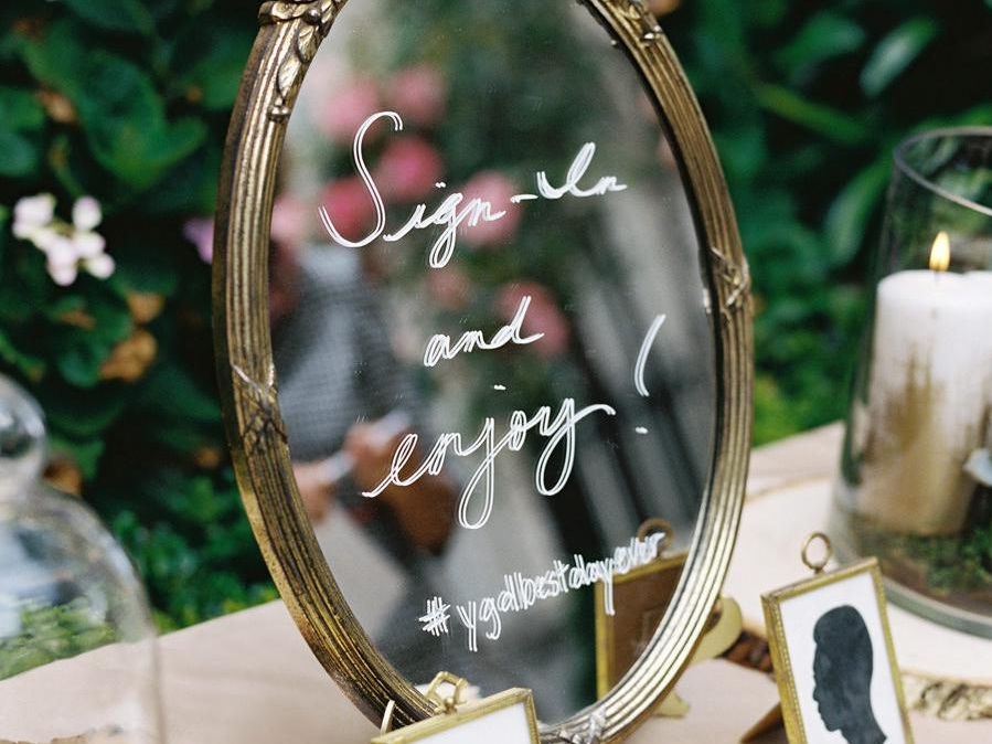 Wedding Mirror Signs Aren T Going Anywhere Here Are 11 We Love