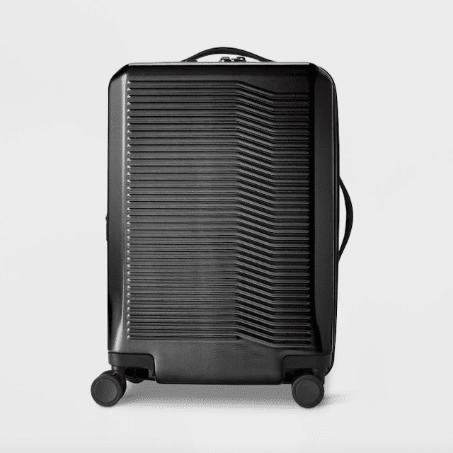 """Open Story Hardside 29"""" Checked Suitcase"""