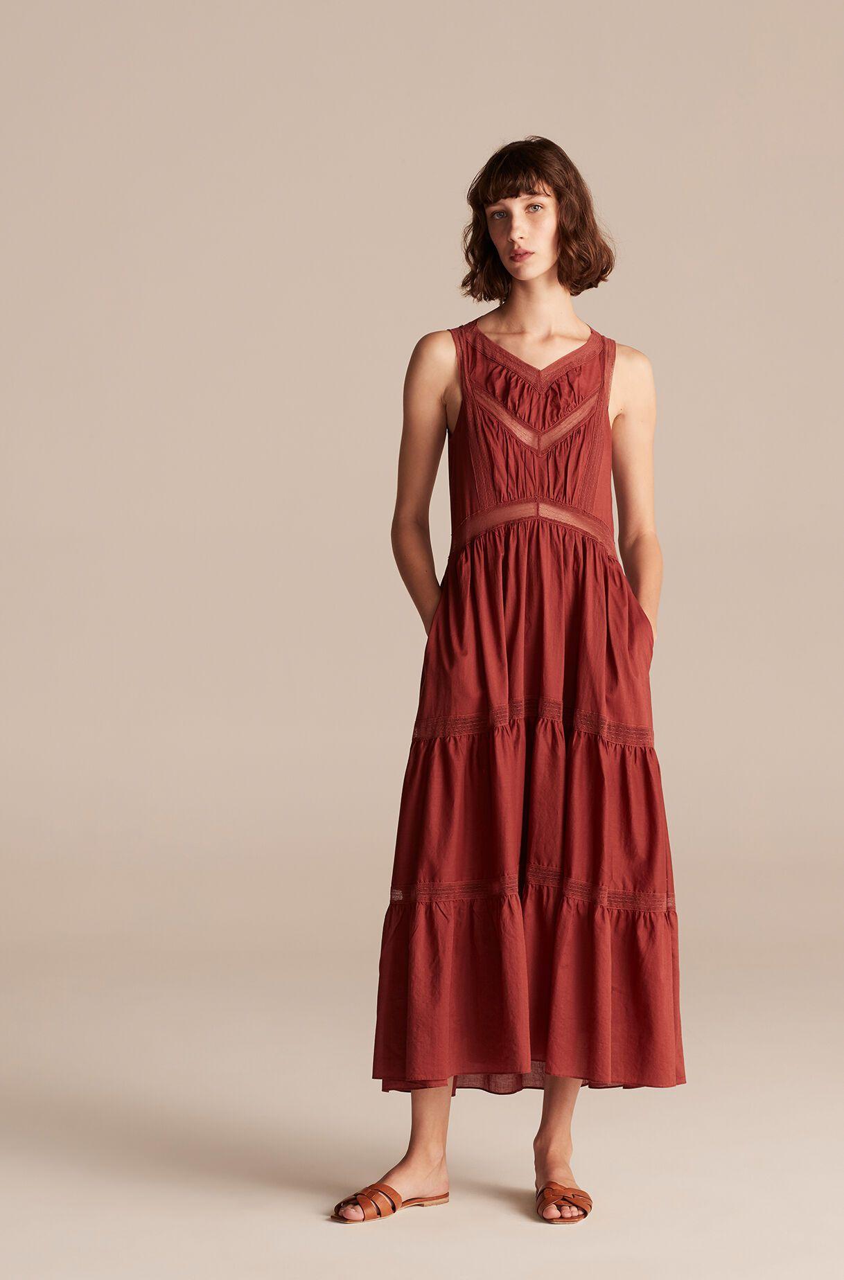 Rebecca Taylor La Vie Voile Lace Trim Dress $140 (originally $350)