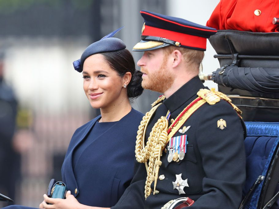 Meghan Markle Made Her First Post-Baby Appearance In Public