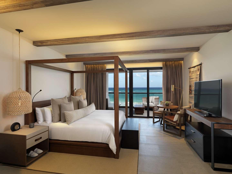 Estancia Suite Room at UNICO 20˚87˚ Hotel Riviera Maya.
