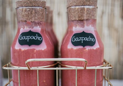 Gaspacho containers