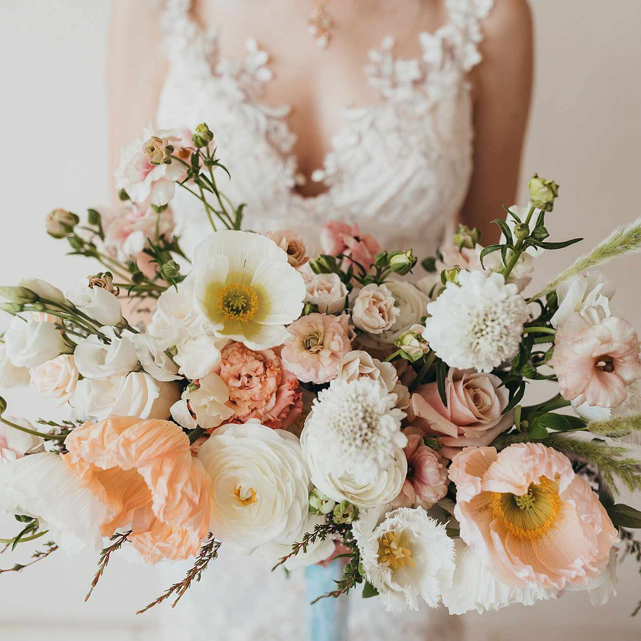15 Fresh And Playful Poppy Wedding Bouquets