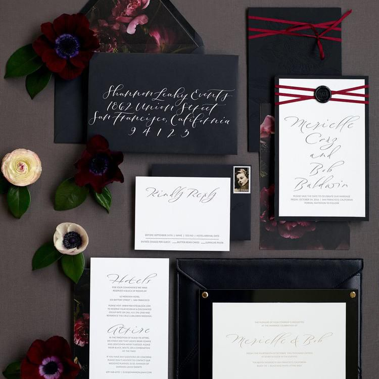 Fancy Wedding Invitations.8 Elegant Wedding Invitations To Set The Tone For Your Ceremony In Style