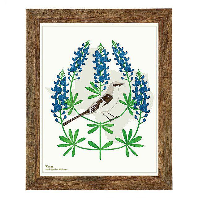 Birds and Blooms Art