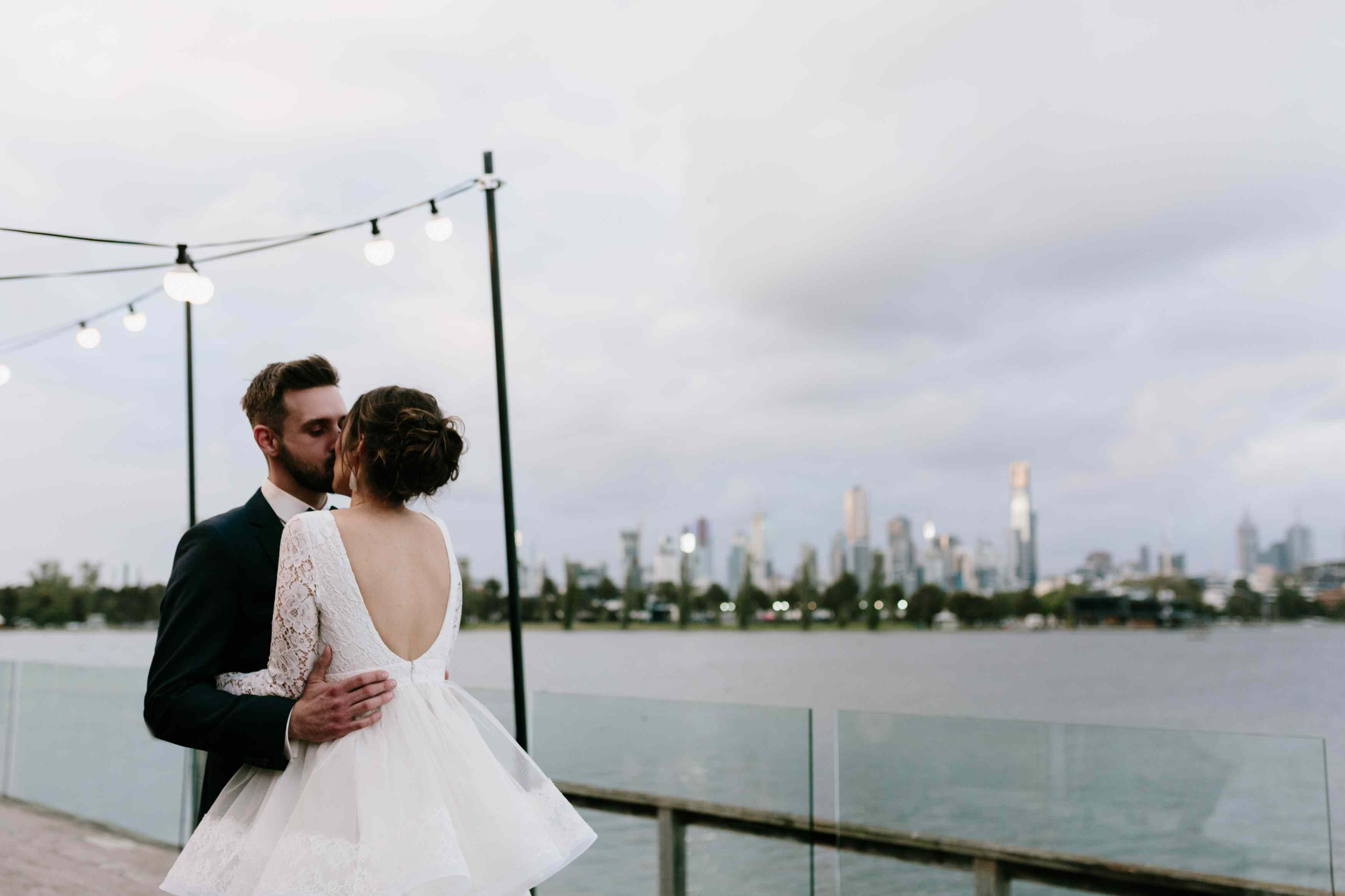<p>couple at reception</p><br><br>
