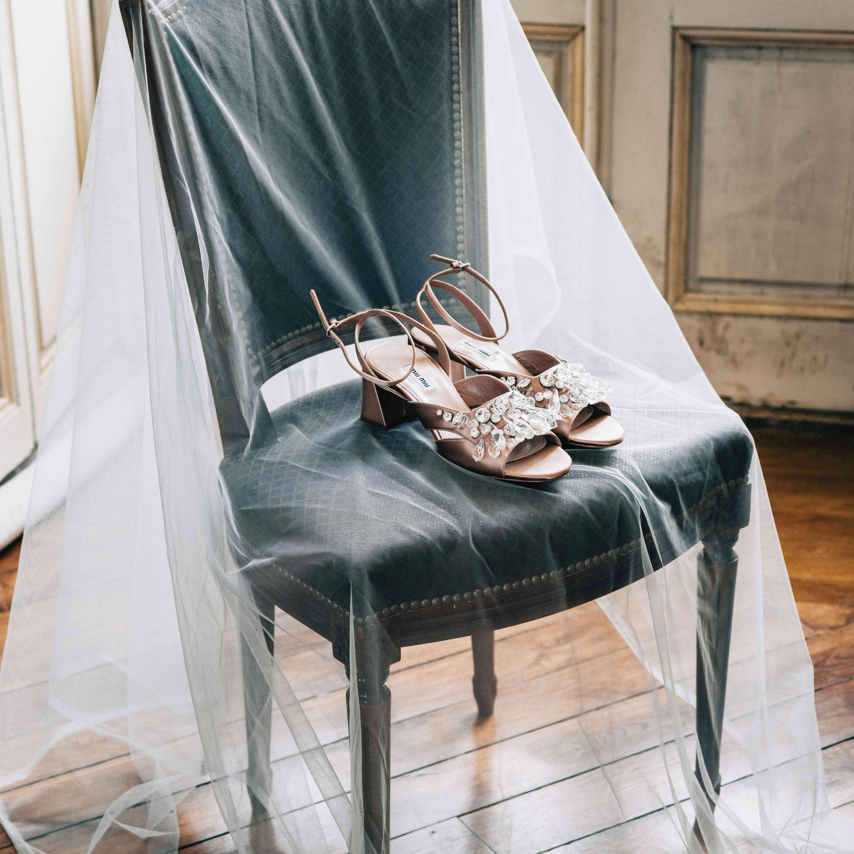 embellished wedding shoes sandals