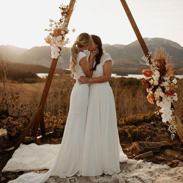 wedding ceremony in colorado