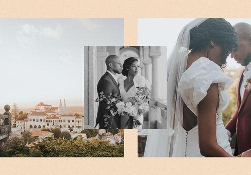 Aisha Beau wedding