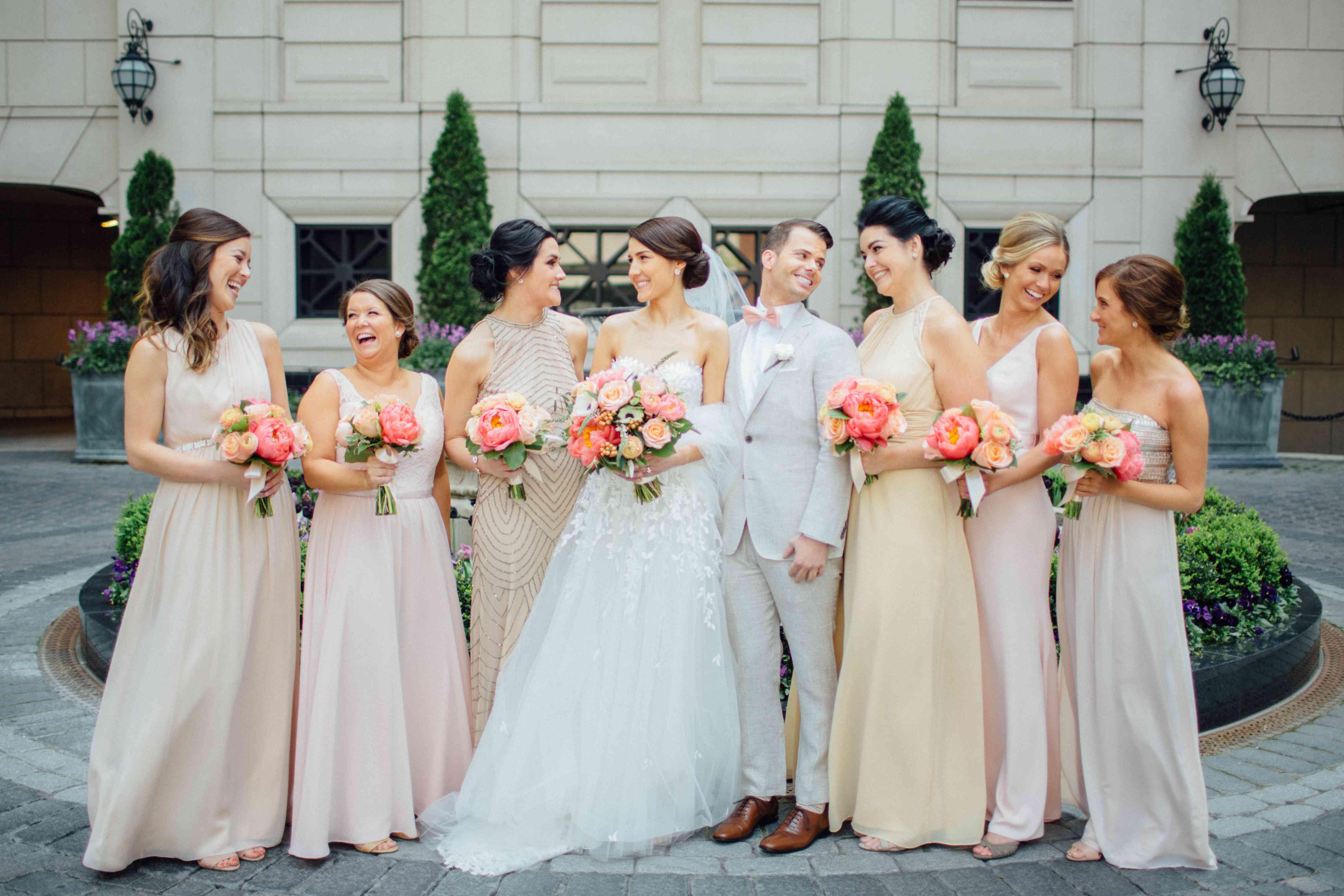 Bridesmaids and Bridesman