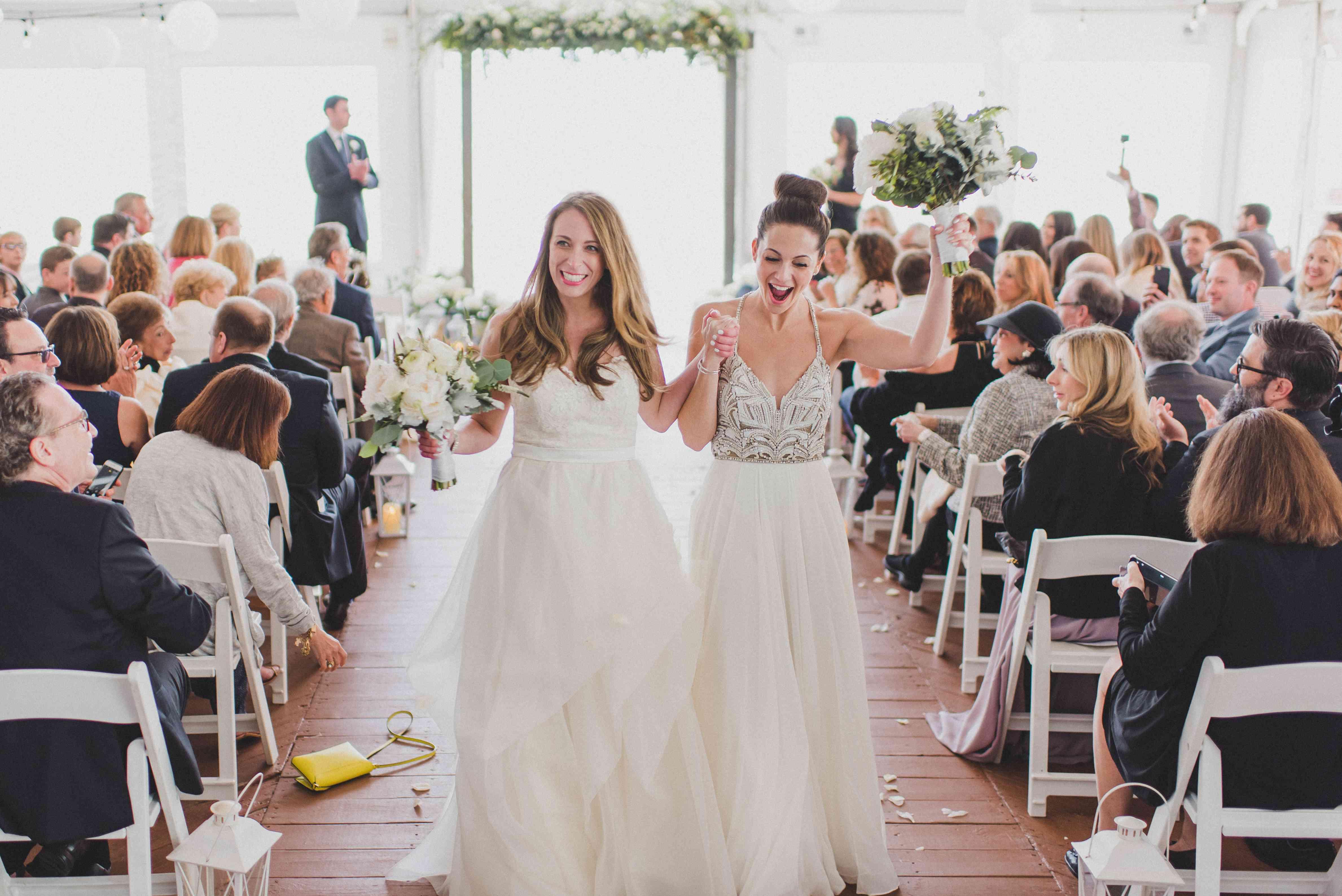 Brides Exit Ceremony