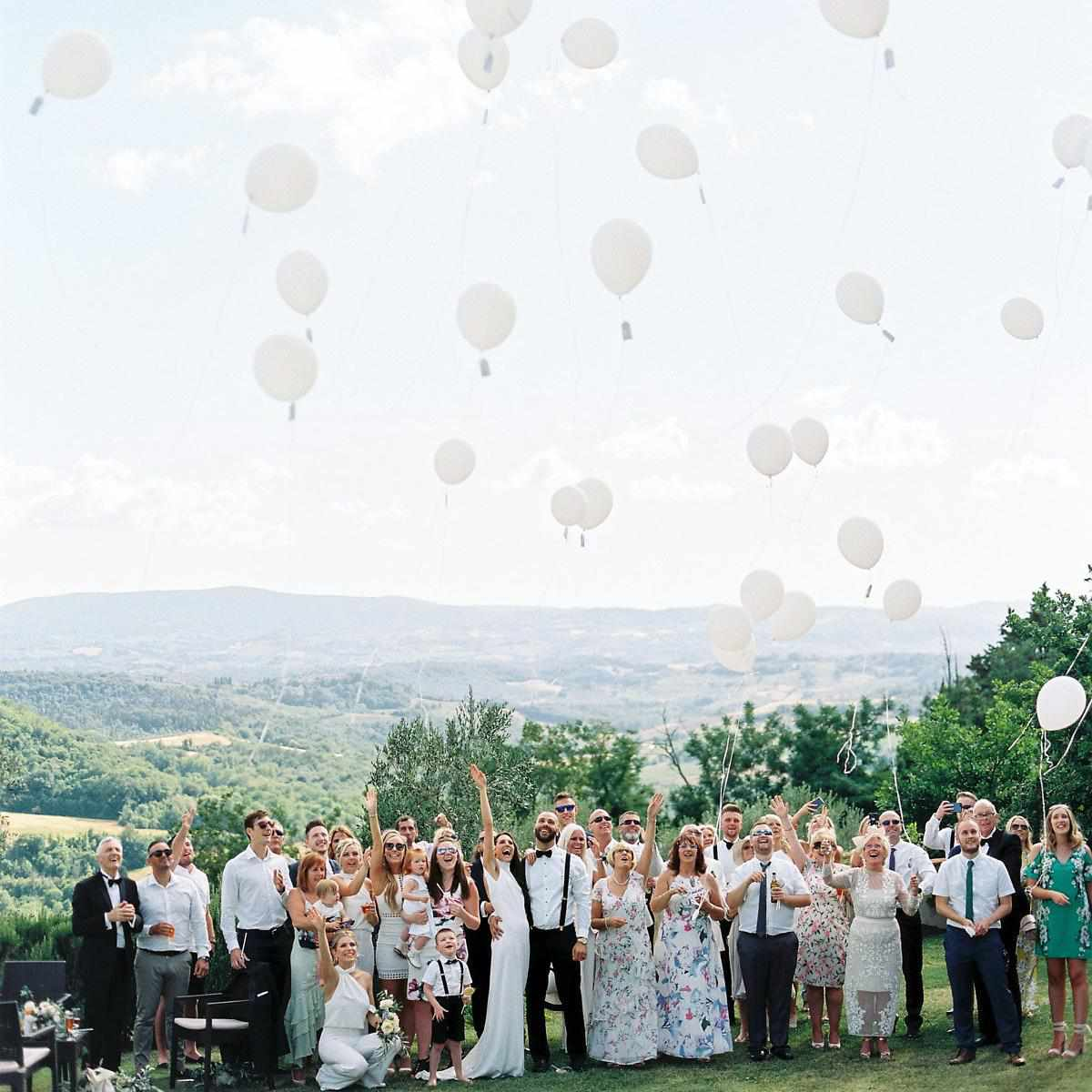 Real Weddings In Tuscany: A Fun-Filled Destination Wedding In Tuscany