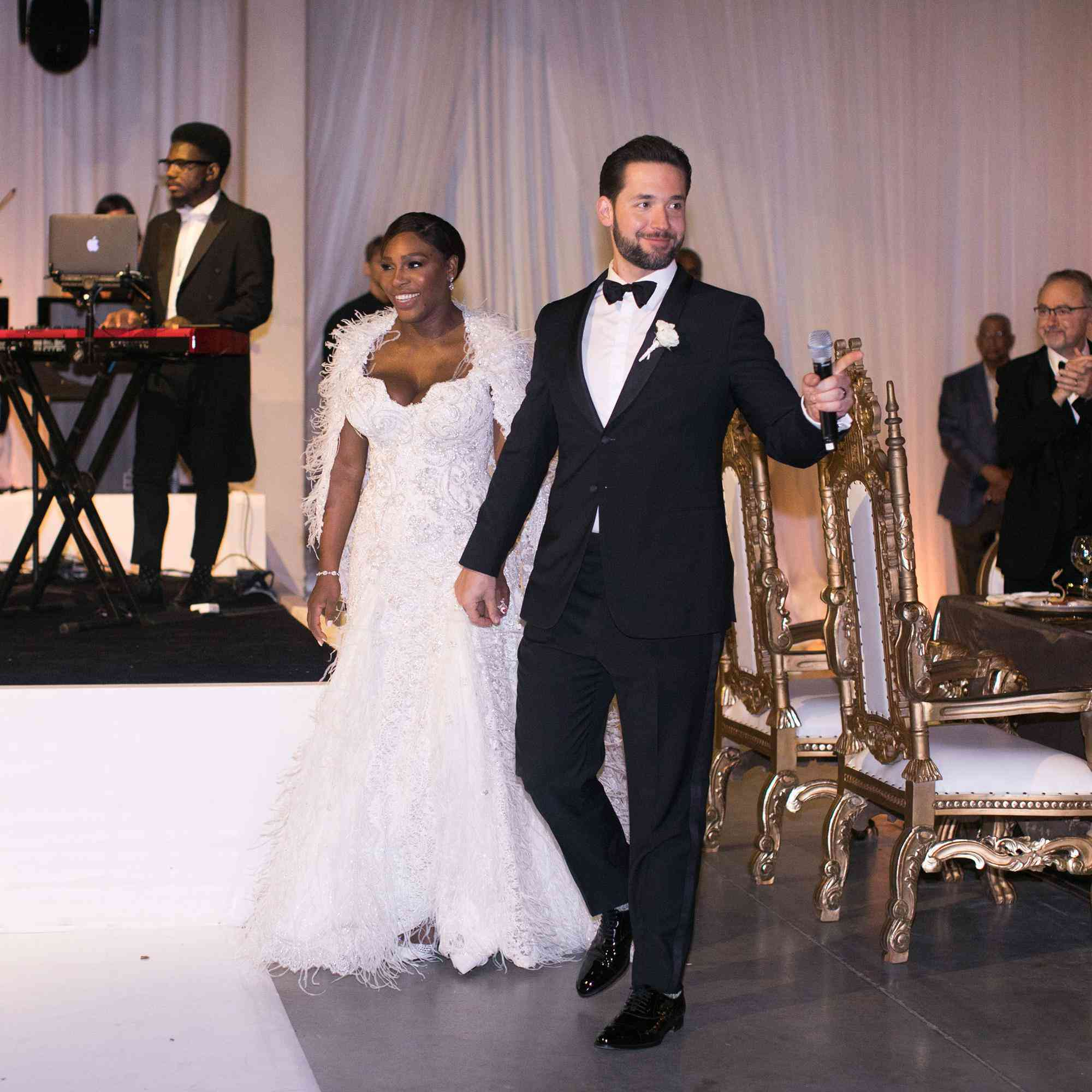 Picture Of Serena Williams Engagement Ring: Serena Williams Wore A Second Wedding Dress That You Need