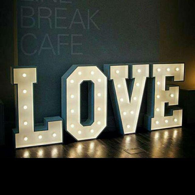 Esty Love Marquee Lighting