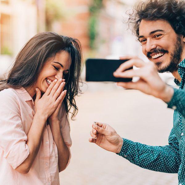 selfie couple