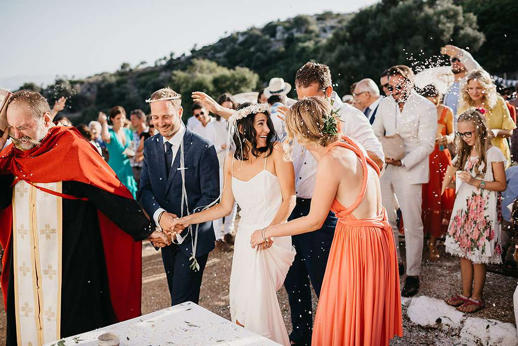 A Simple Summer Wedding on the Greek Island of Crete