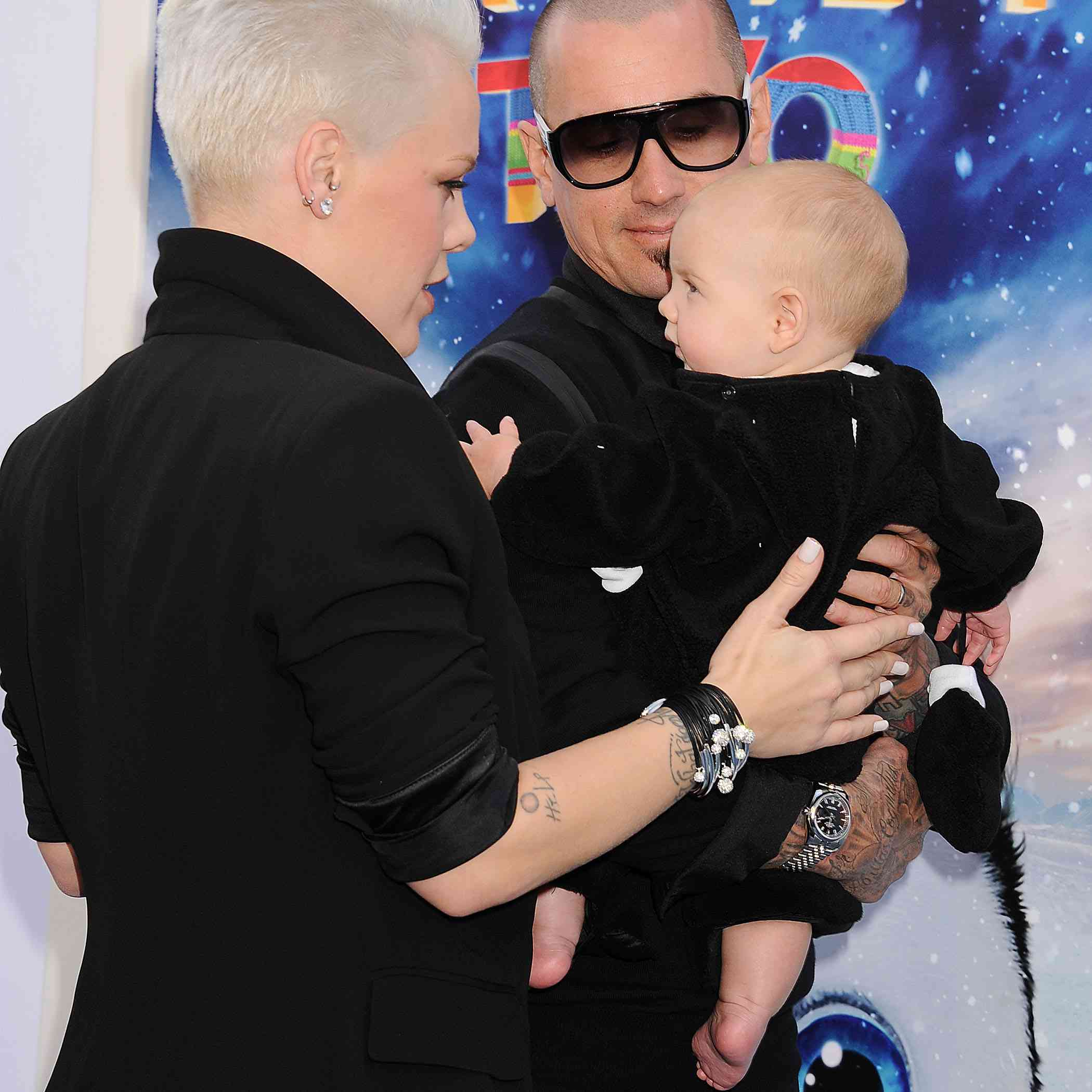 Pink, Carey, and baby Willow