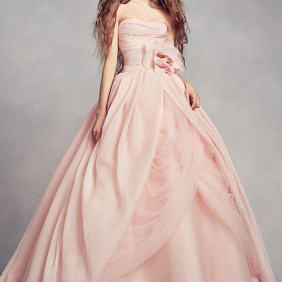 36 Pink Wedding Dresses For The Modern Romantic Bride