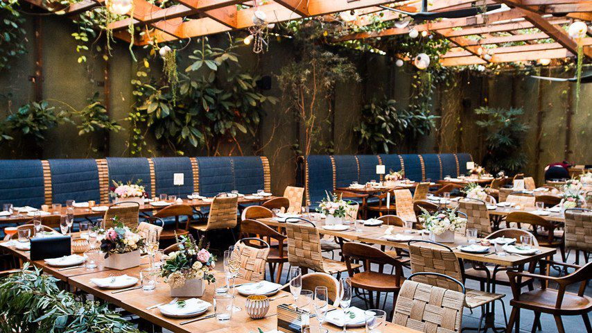 How to Have a Restaurant Wedding Reception