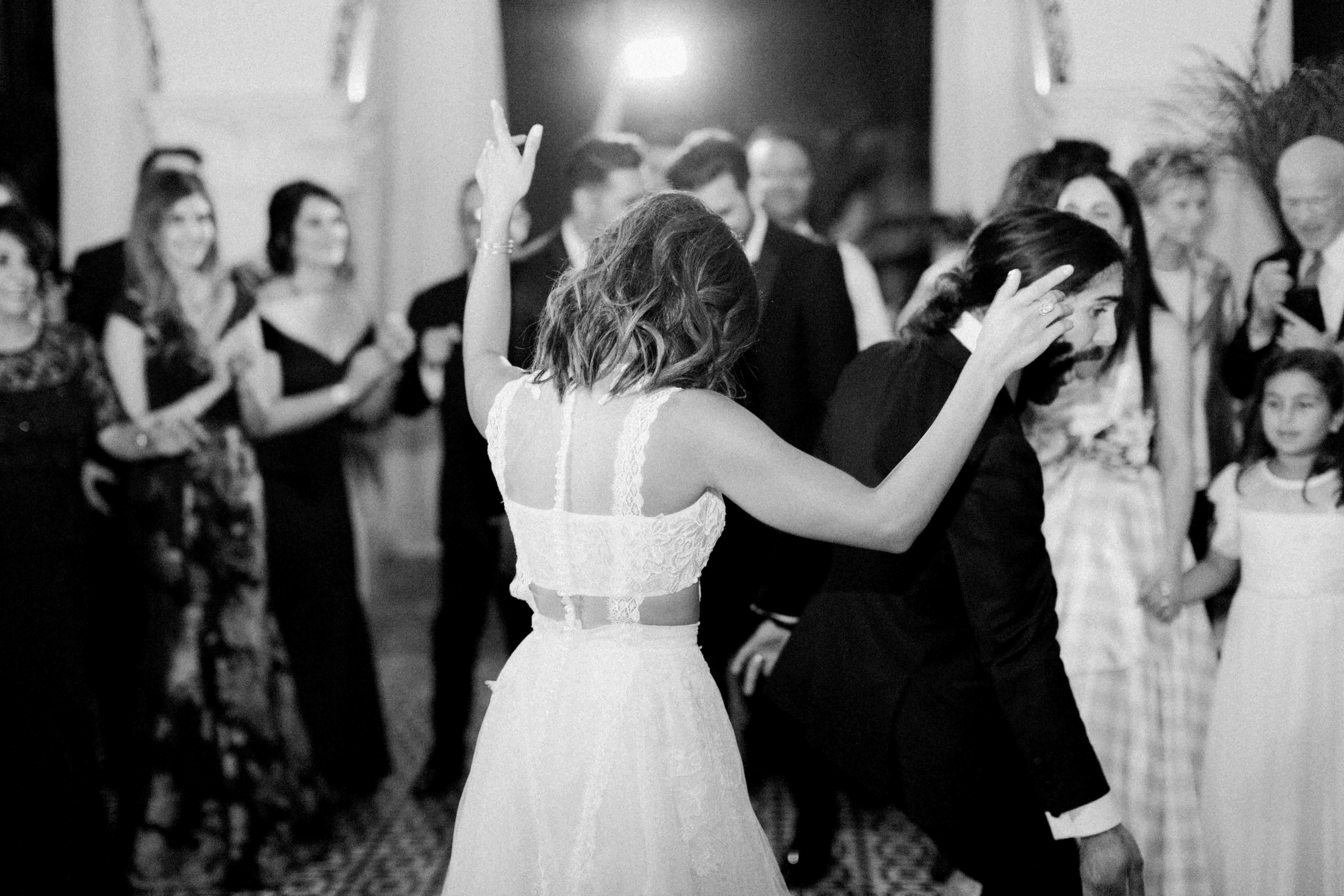 dancing dance floor reception