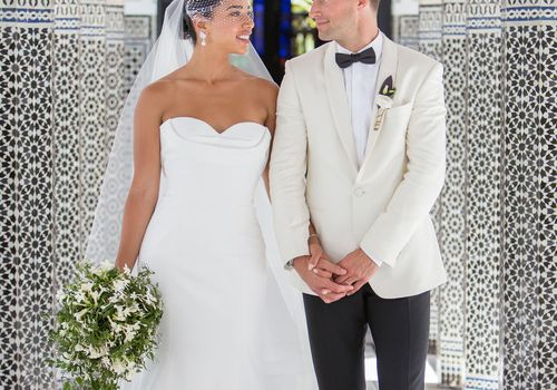 Hannah Bronfman and Brendan Fallis