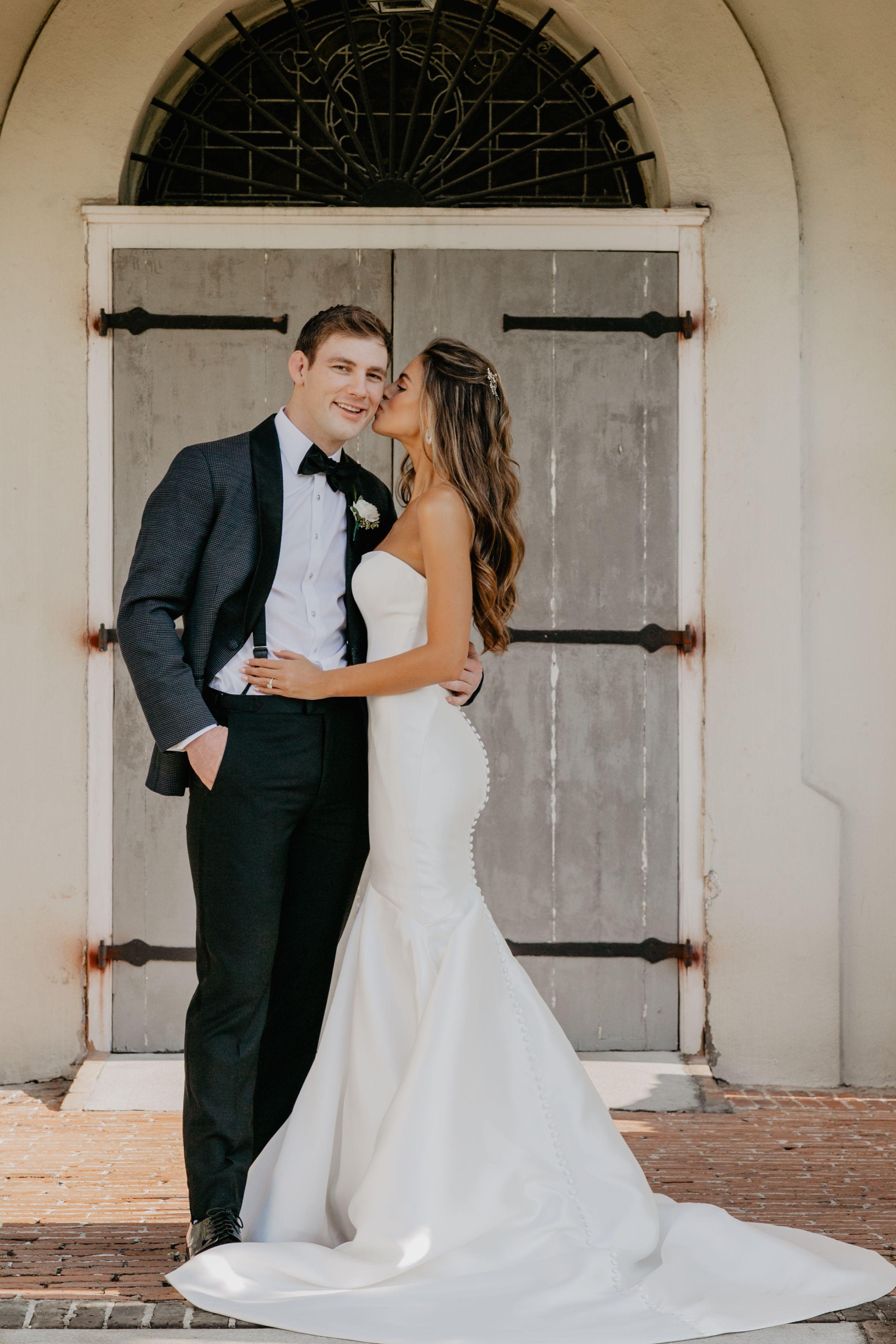 Model Brooks Nader S Romantic Winter Wedding In New Orleans