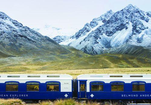 Belmond Andean Explorer train in Peru