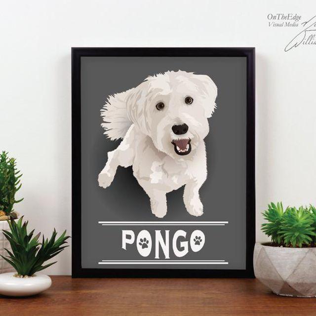 On The Edge Creations Custom Pet Portrait