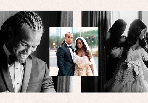 Uche Nwosu and Clinton Moxam wedding