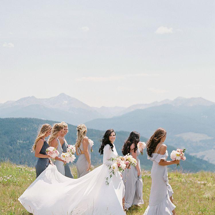 <p>grey bridesmaid dresses</p><br><br>