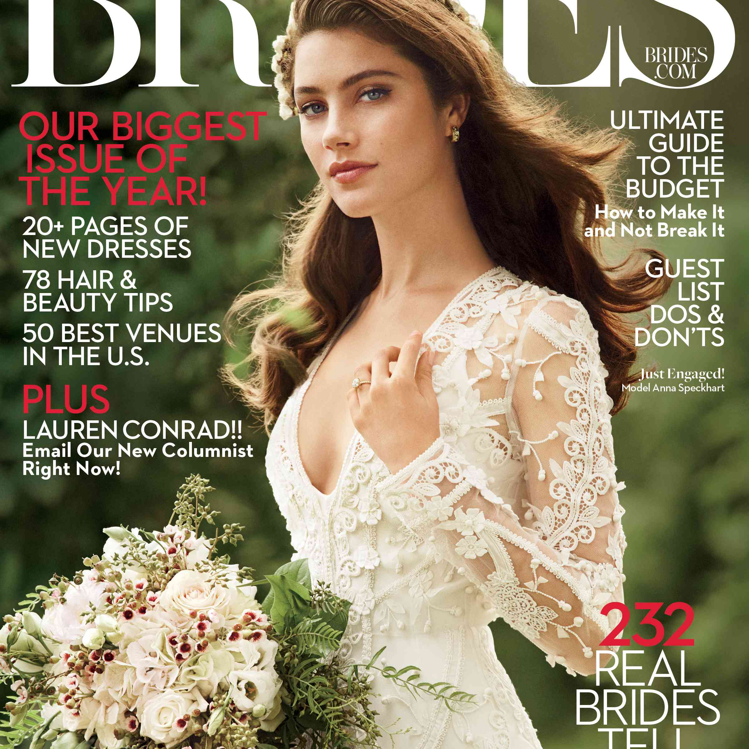 BRIDES February March 2017 Cover Image