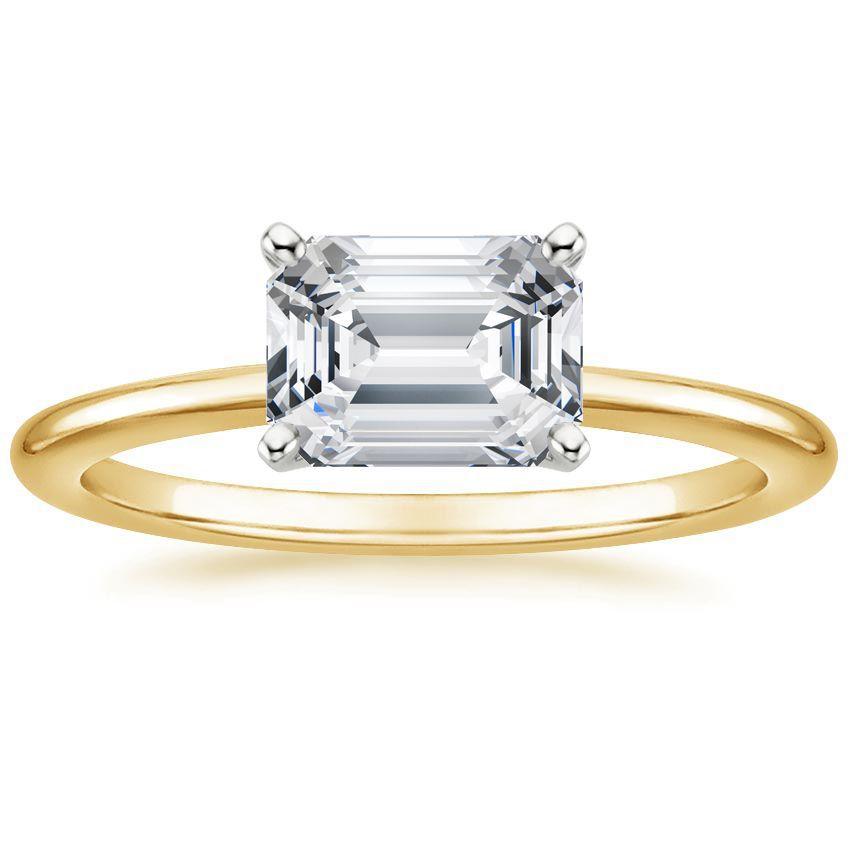 Horizontal Petite Comfort Ring