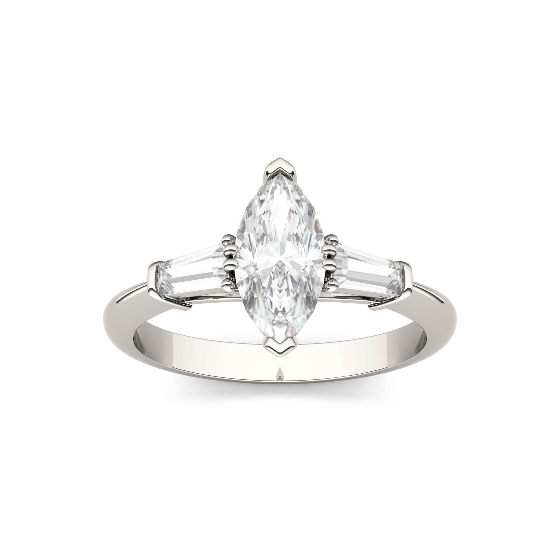 15 Moissanite Engagement Rings for the Eco-Friendly Bride