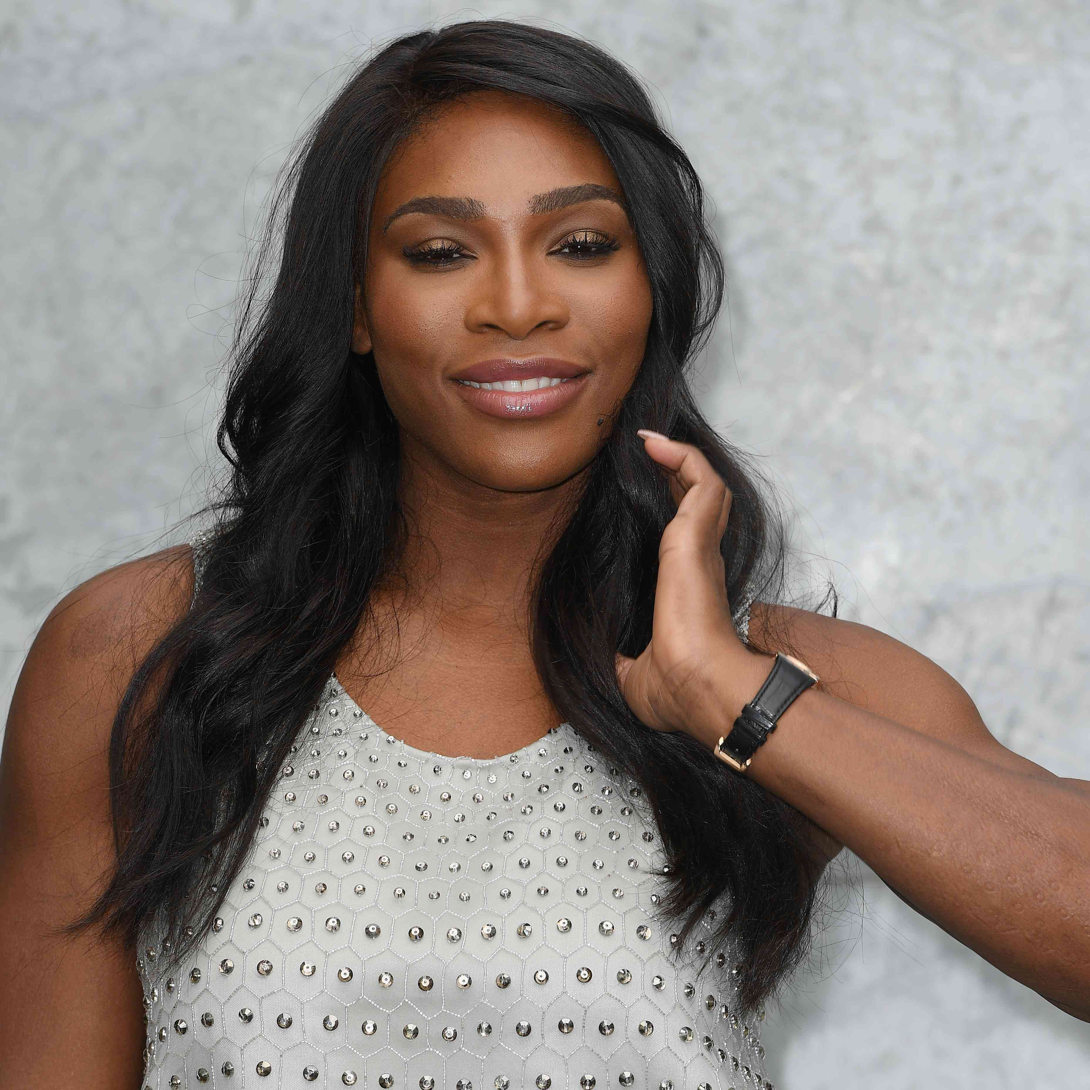 Picture Of Serena Williams Engagement Ring: Serena Williams FINALLY Shows Off Her Engagement Ring