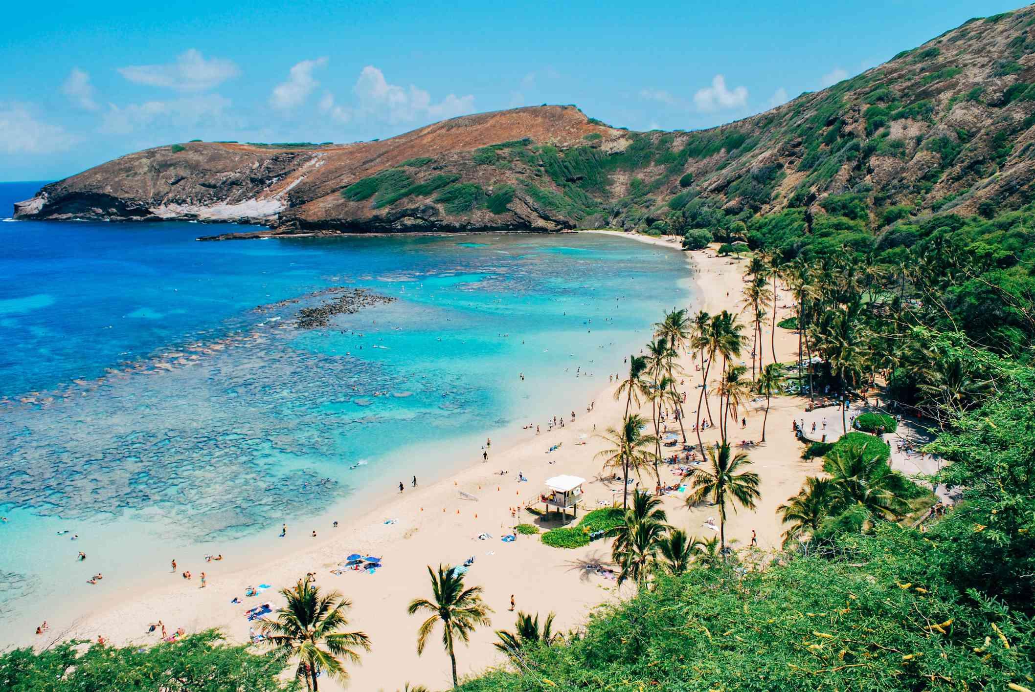 Beach in Honolulu Hawaii