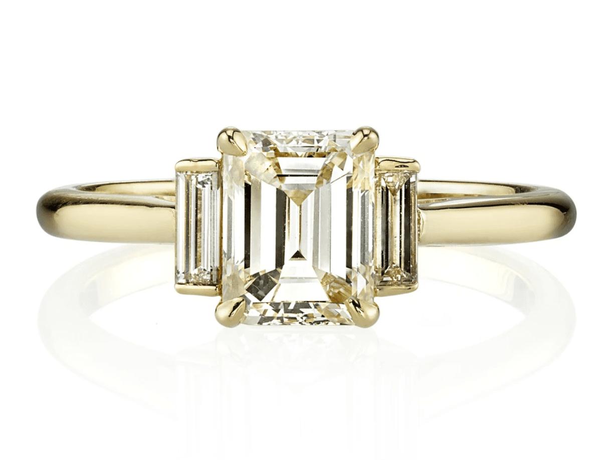 Single Stone London Ring