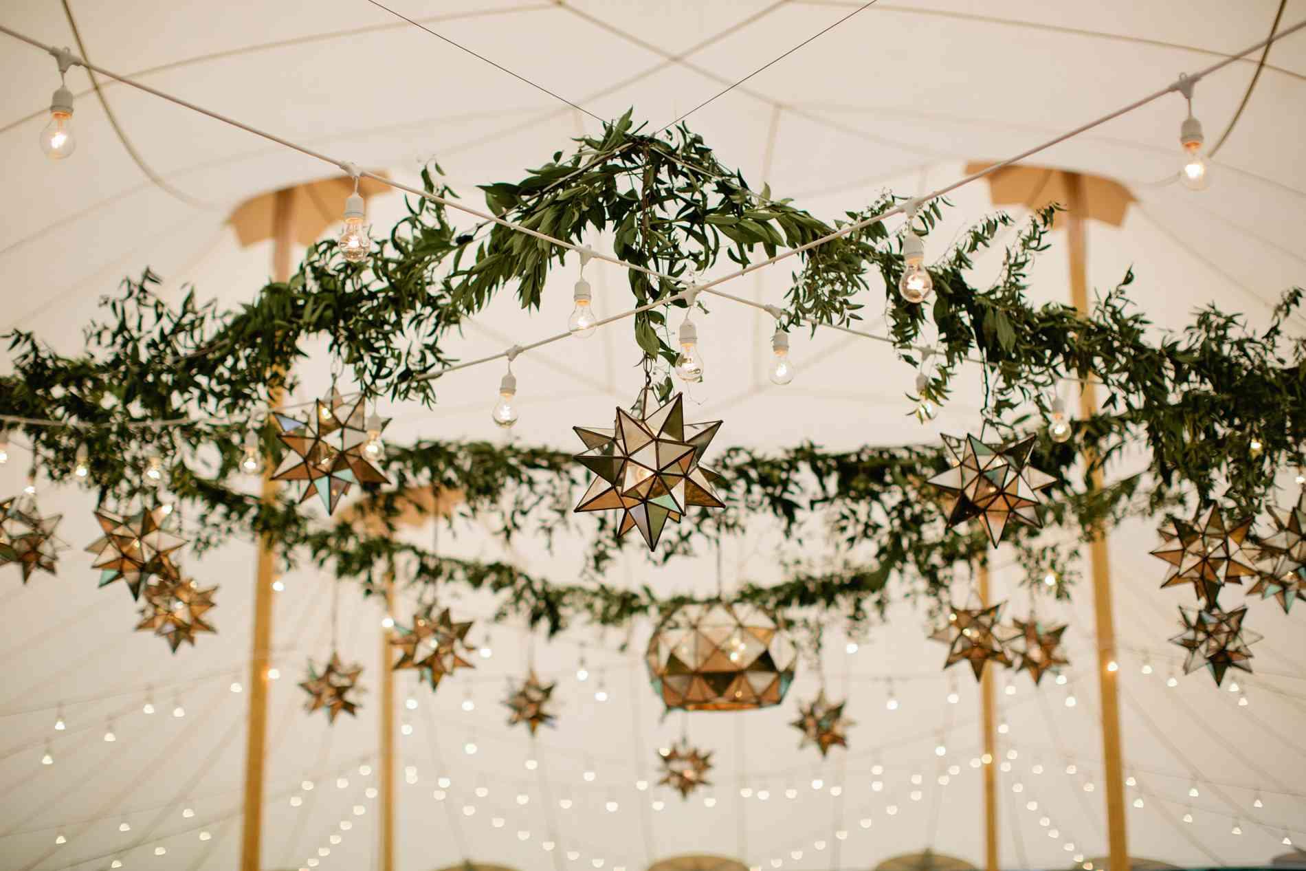 Reception garland decor
