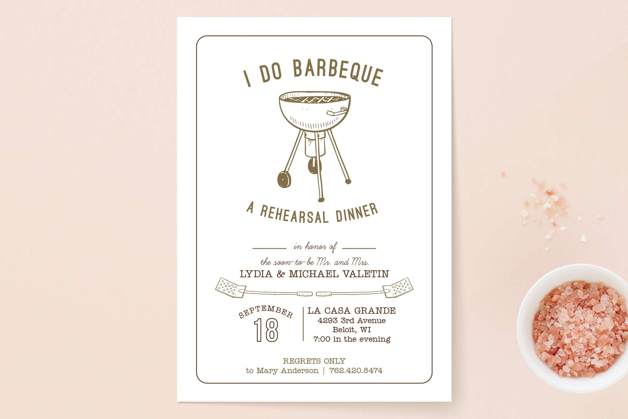 13 Rehearsal Dinner Invitations to Commemorate the Night