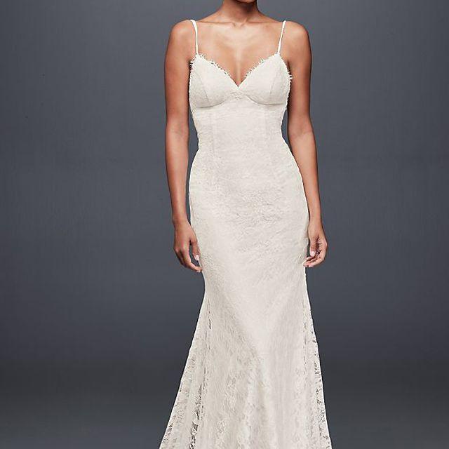 Galina Low Back Soft Lace Wedding Dress $319.99, originally $499
