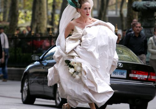 Carrie Bradshaw Wedding Shoes
