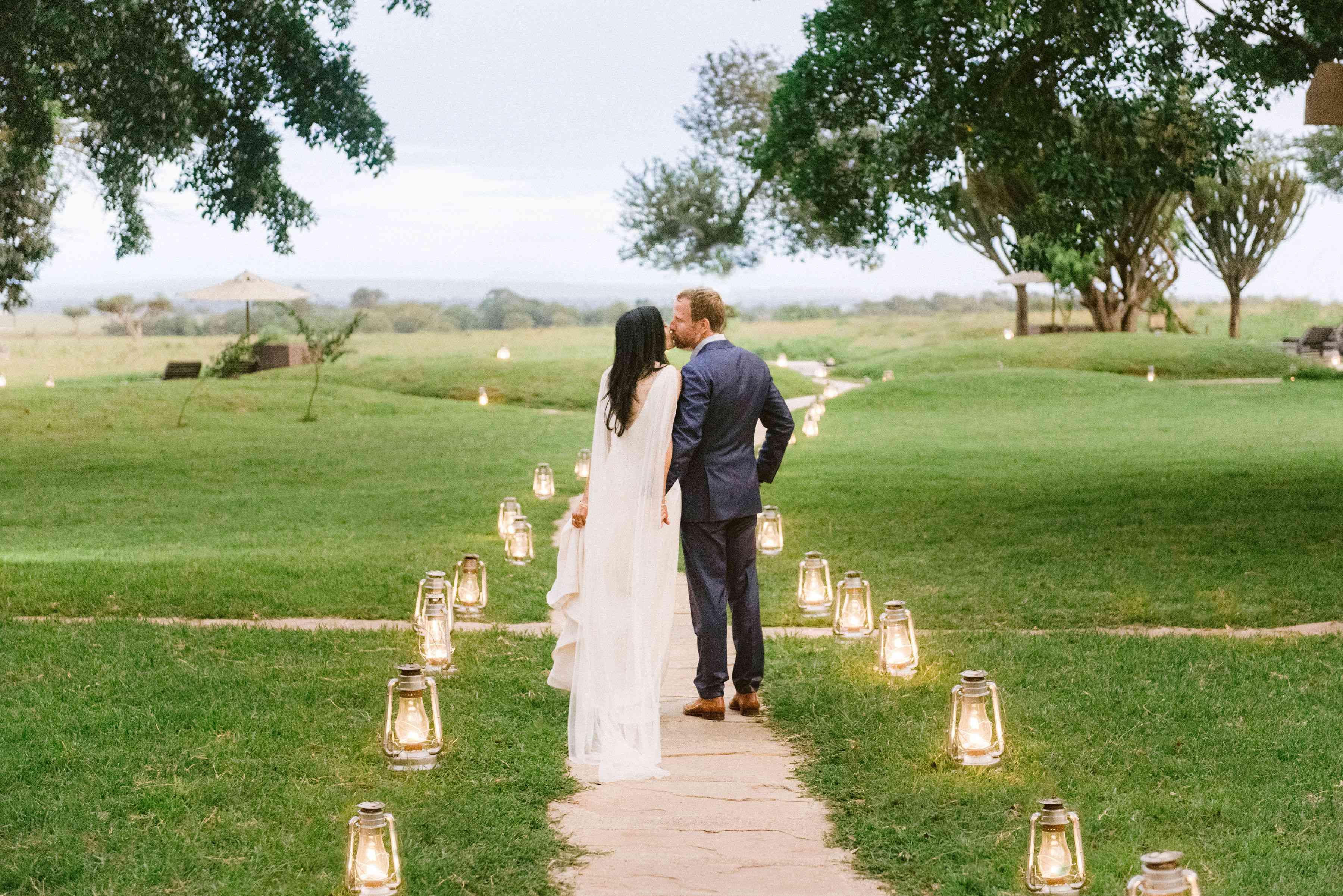 candle walkway