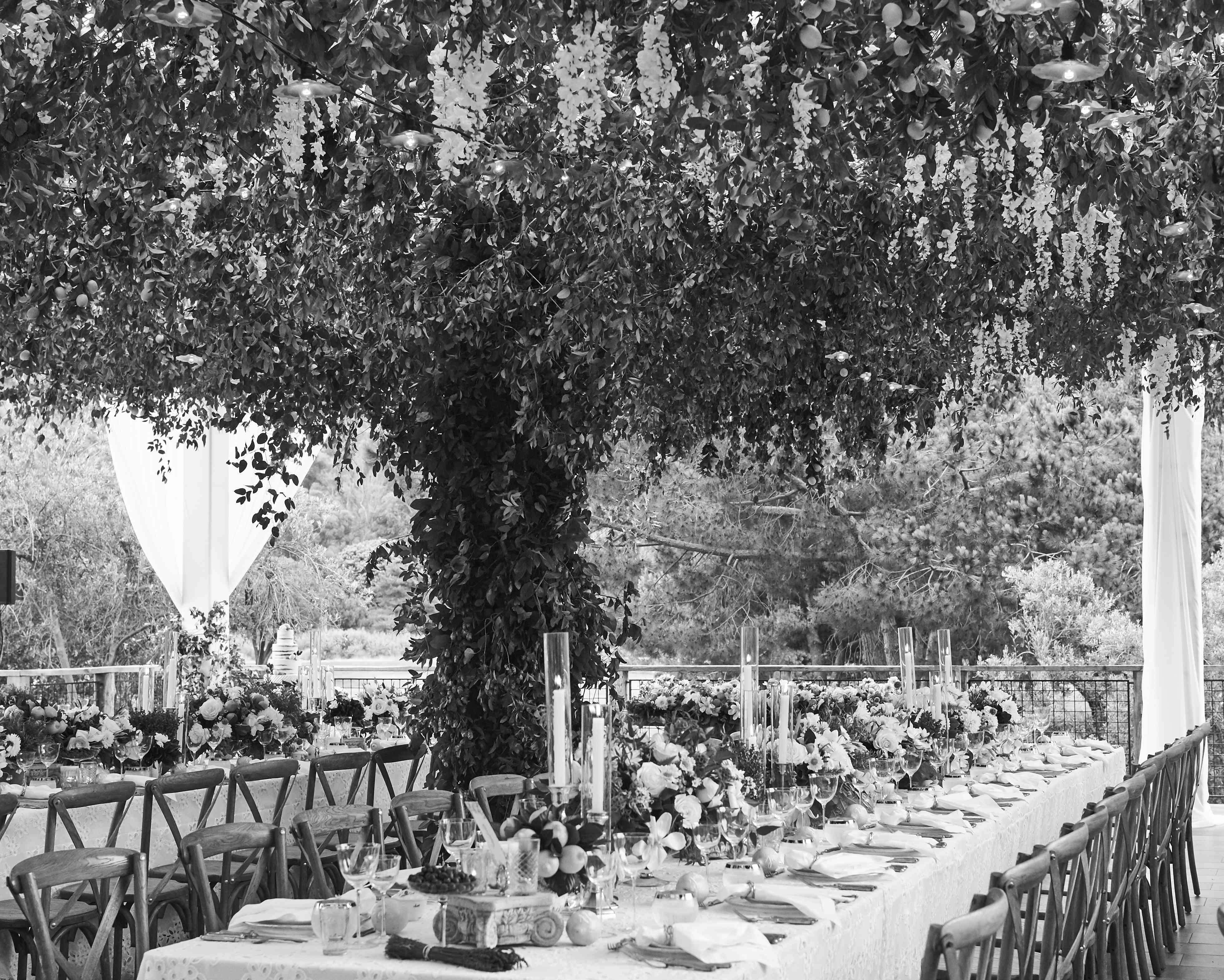 Hanging Floral Canopy