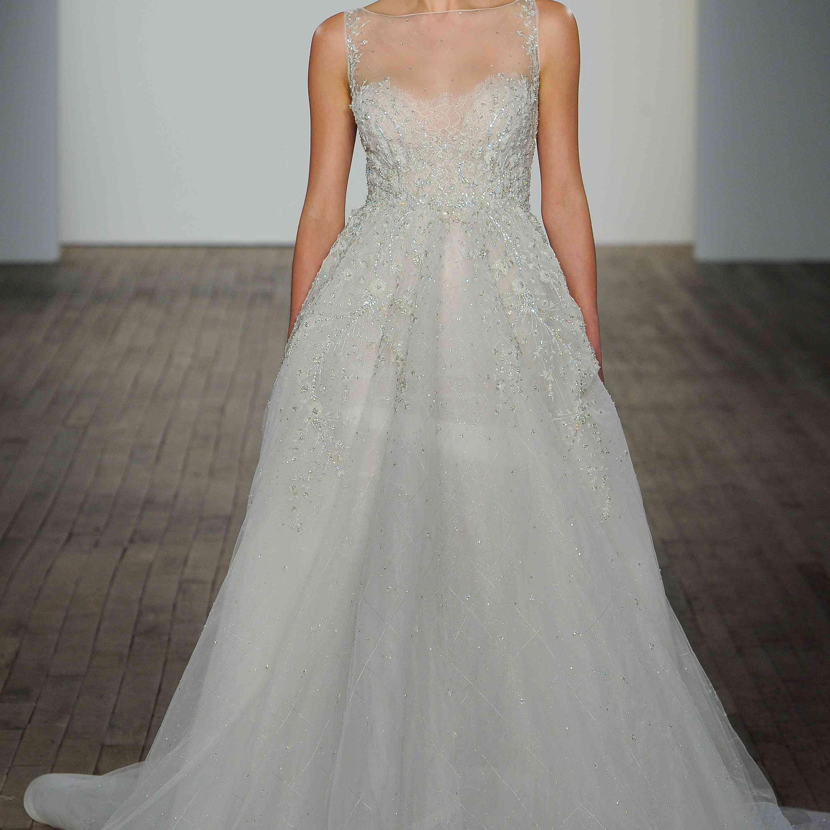 Gabriela A-line wedding dress lazaro