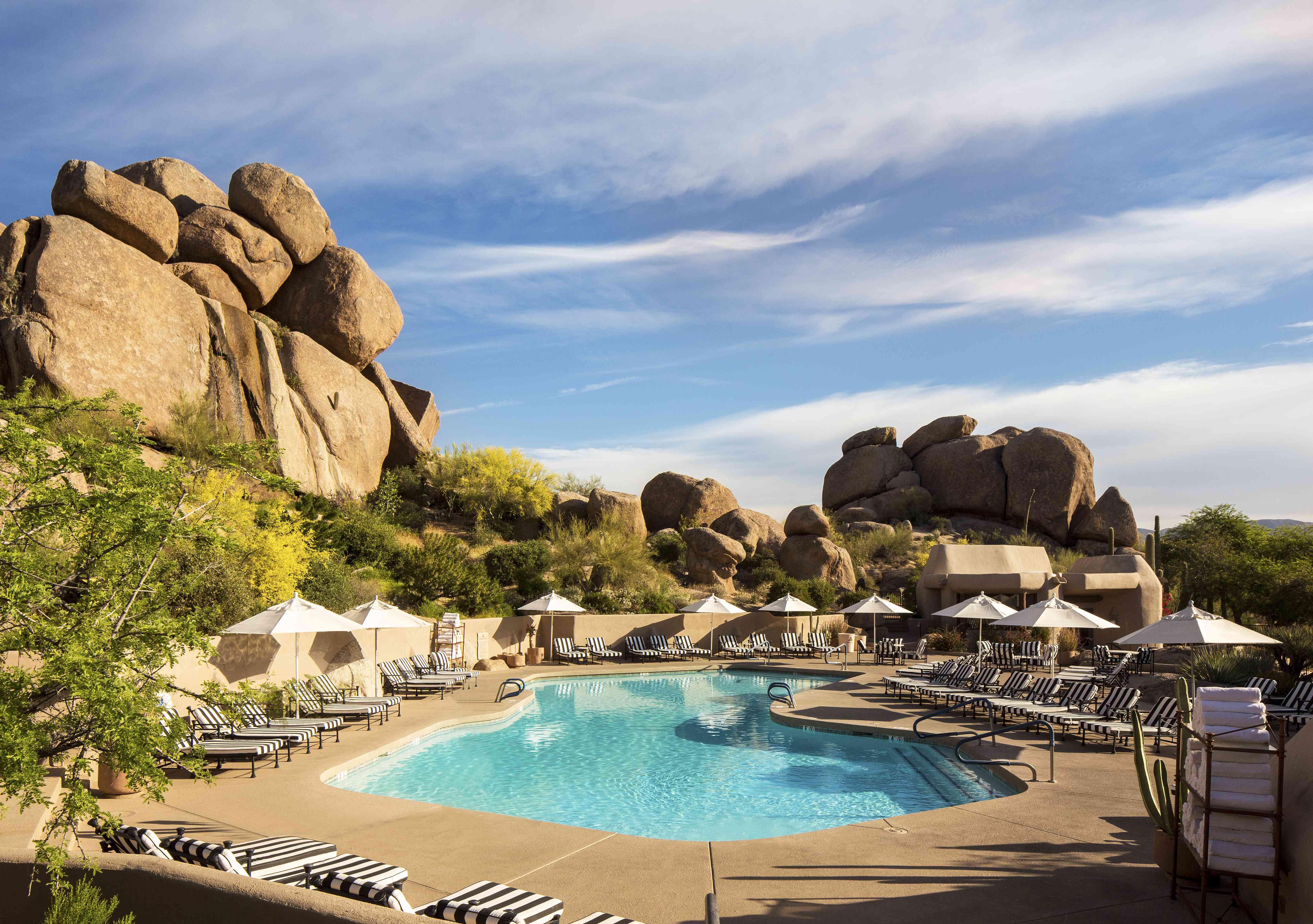 Boulders Resort pool