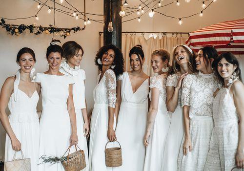 laure de sagazan bridal fall 2020