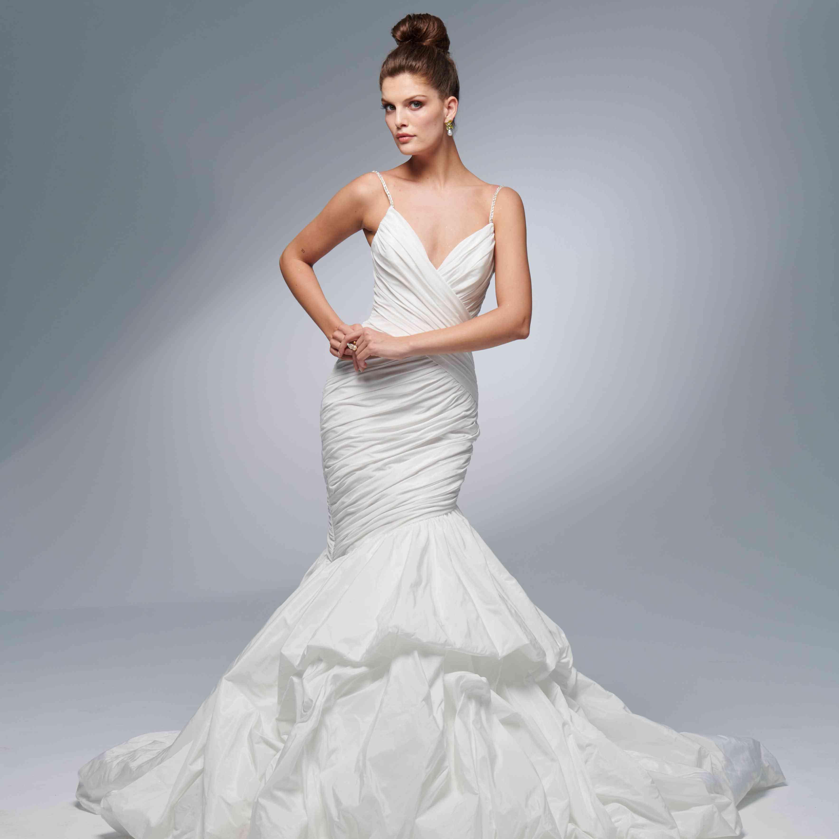 Bailey fit-and-flare wedding dress